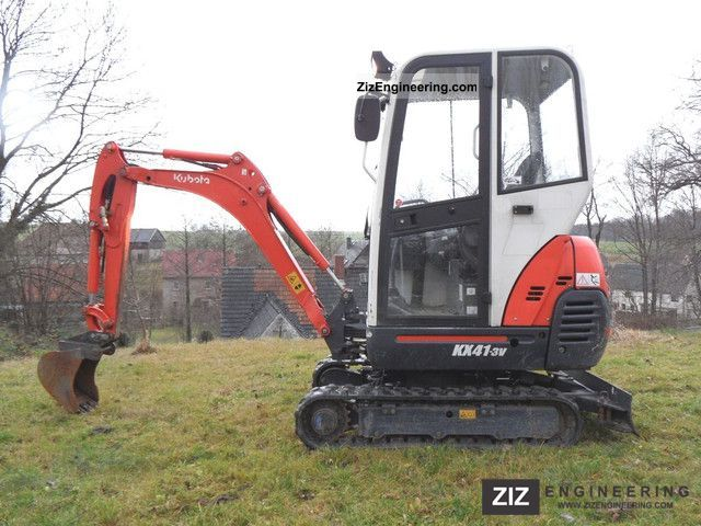 2009 Kubota  KX41-3V - Tele drive Construction machine Mini/Kompact-digger photo