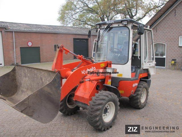 2009 Kubota  420 Construction machine Wheeled loader photo