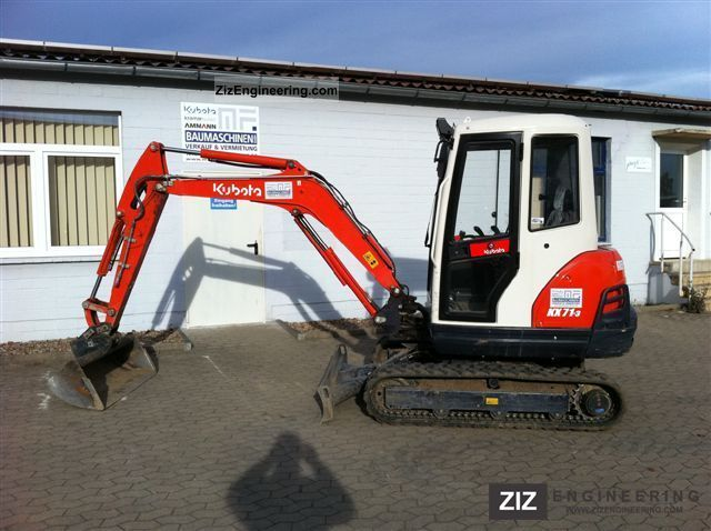 2011 Kubota  KX 71-3 Construction machine Mini/Kompact-digger photo
