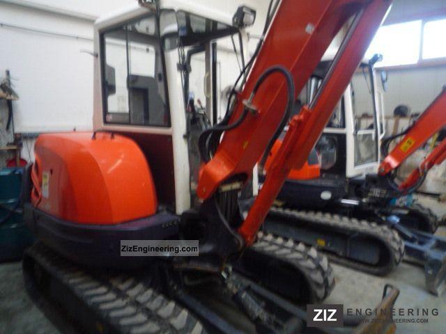 2009 Kubota  KX121-3 Construction machine Mini/Kompact-digger photo