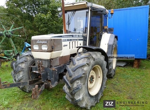 1991 Lamborghini  874-90 Agricultural vehicle Tractor photo