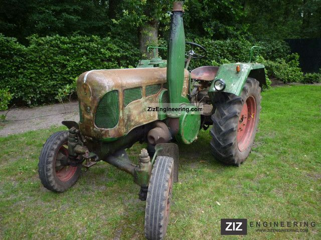 1959 Lanz  D 2416 Full Diesel / / sheet Bulldog Agricultural vehicle Tractor photo