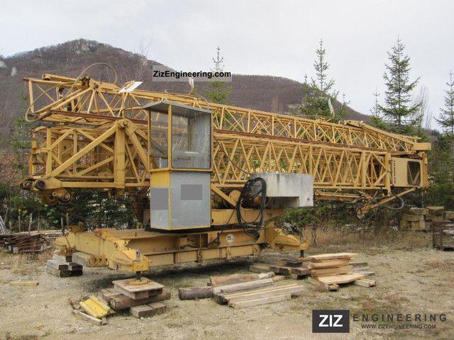 1978 Liebherr  33K Construction machine Construction crane photo