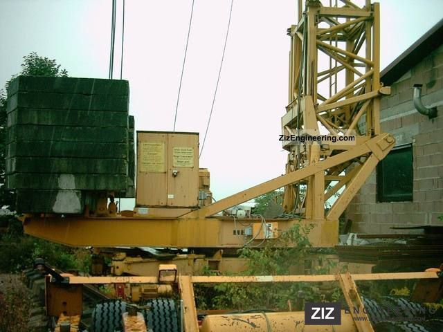1978 Liebherr  45K80S Construction machine Construction crane photo