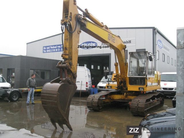 1991 Liebherr  912 excavator Construction machine Caterpillar digger photo