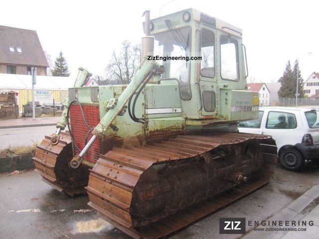 1988 Liebherr  721 bulldozer Construction machine Dozer photo