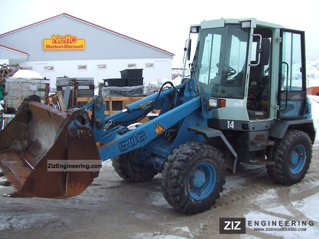 2000 Liebherr  506 Stereo Construction machine Wheeled loader photo