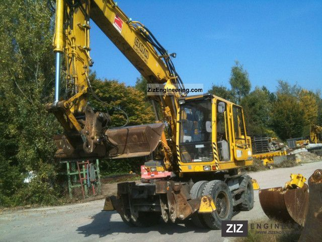 1995 Liebherr  900 ZW Litronic 4xPratzen / / 21 tons / TOP! Construction machine Mobile digger photo