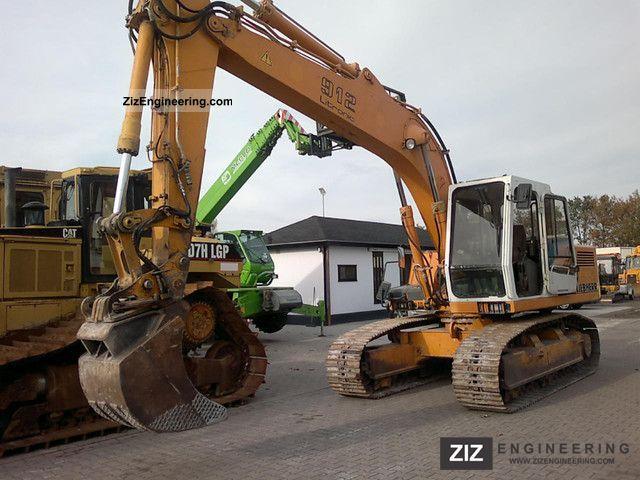 1993 Liebherr  912 Litronic Construction machine Caterpillar digger photo