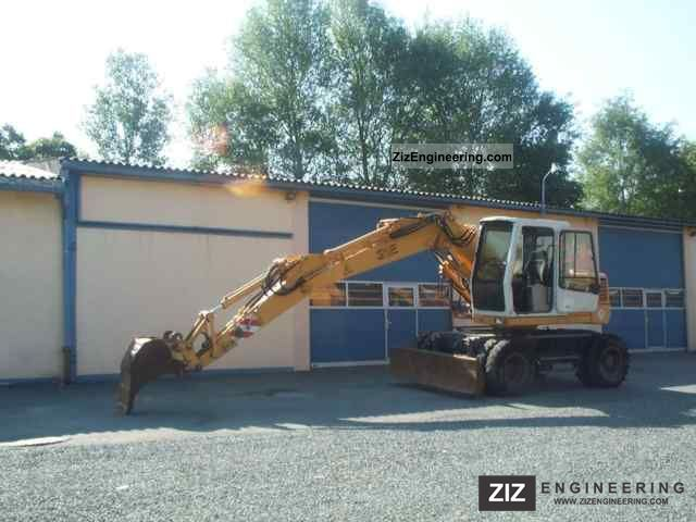 1999 Liebherr  312 Litronic excavator Construction machine Mobile digger photo