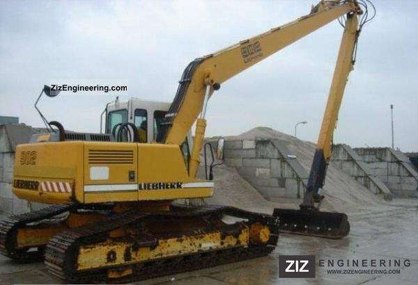 2011 Liebherr  902 longreach Długi ramie, Gąsienicowe Construction machine Caterpillar digger photo
