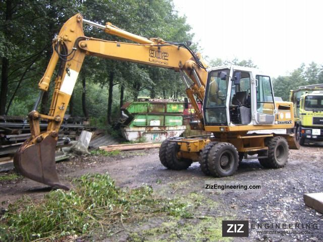 1998 Liebherr  902 Litronic Construction machine Mobile digger photo