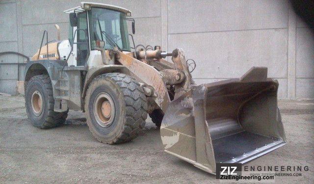 2002 Liebherr  554 2 +2 Construction machine Wheeled loader photo