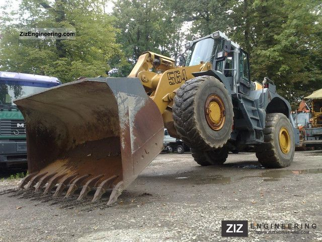 2001 Liebherr  564 554 544 AIR Construction machine Wheeled loader photo