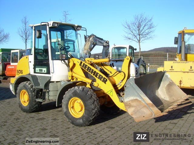 2010 Liebherr  L 506 stereo, built in 2010, 1600 Bh, shovel, fork Construction machine Wheeled loader photo
