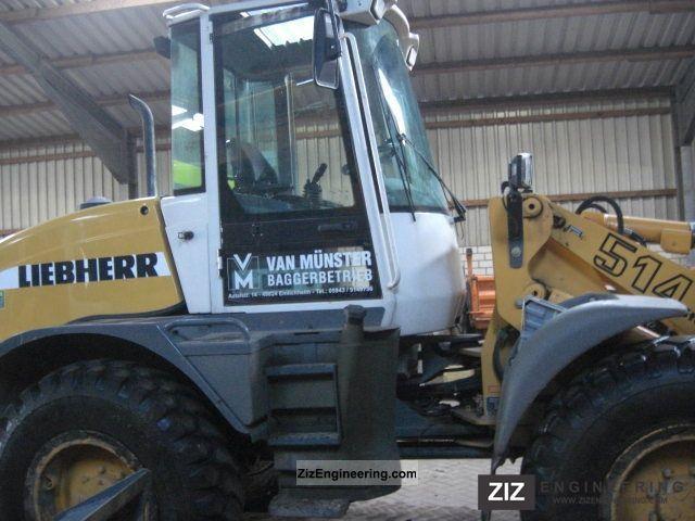 2006 Liebherr  514 Construction machine Wheeled loader photo