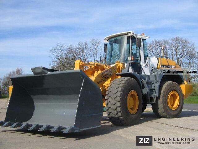 2002 Liebherr  554 Construction machine Wheeled loader photo