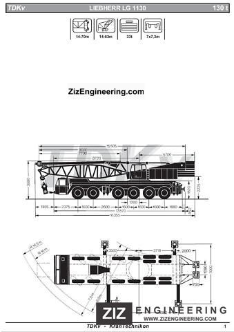 1973 Liebherr  LG1130 Expect / Expected Truck over 7.5t Truck-mounted crane photo