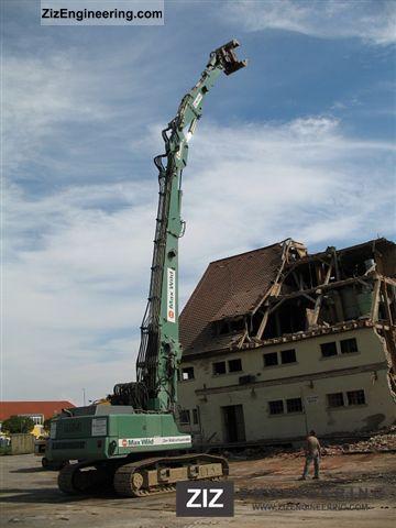 Liebherr R 954 B Hd With Demolition Demolition Longfront