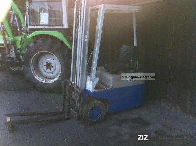 1978 Linde  E 12 Forklift truck Front-mounted forklift truck photo