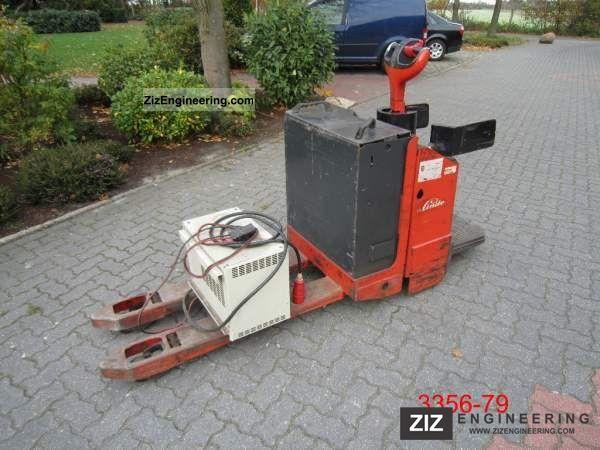 2000 Linde  T 20 AP 01 Forklift truck Other forklift trucks photo