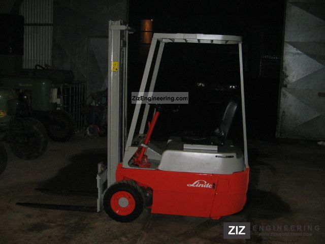 2011 Linde  E10, electric forklifts Forklift truck Front-mounted forklift truck photo