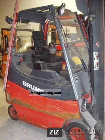 1999 Linde  E 20 cabin Forklift truck Front-mounted forklift truck photo