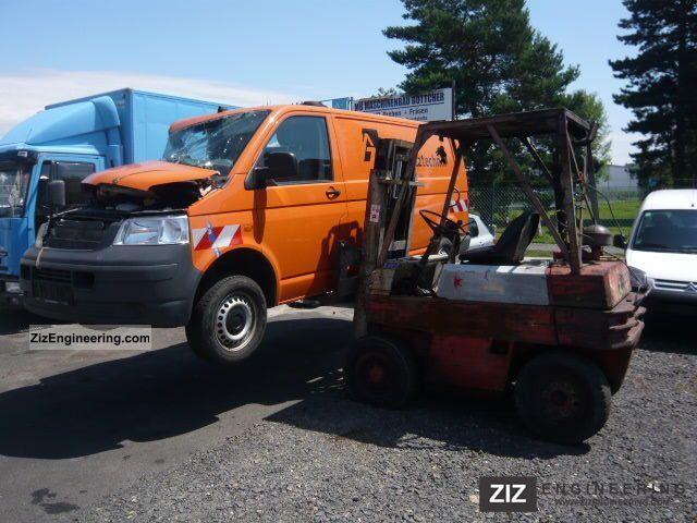 1982 Linde  H 25-D Forklift truck Rough-terrain forklift truck photo