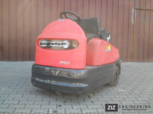 2000 Linde  EFZ P 60 tractors, tractor, rank Schierer Forklift truck Other forklift trucks photo