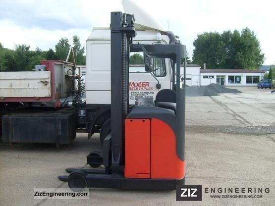 2001 Linde  R 14 Forklift truck Reach forklift truck photo