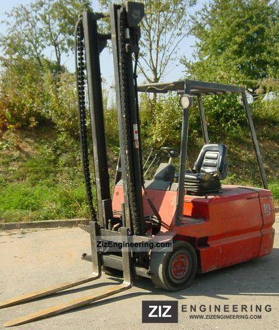 1990 Linde  E 25 Forklift truck Front-mounted forklift truck photo