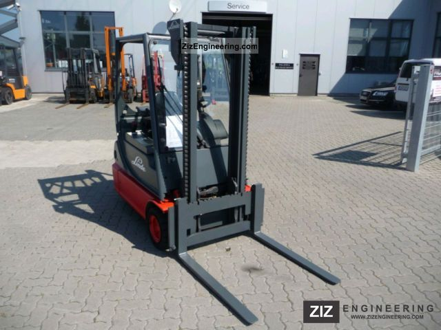 2001 Linde  E16C-02 Forklift truck Front-mounted forklift truck photo