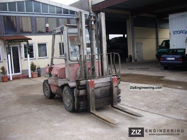 2011 Linde  H 35 L Forklift truck Rough-terrain forklift truck photo
