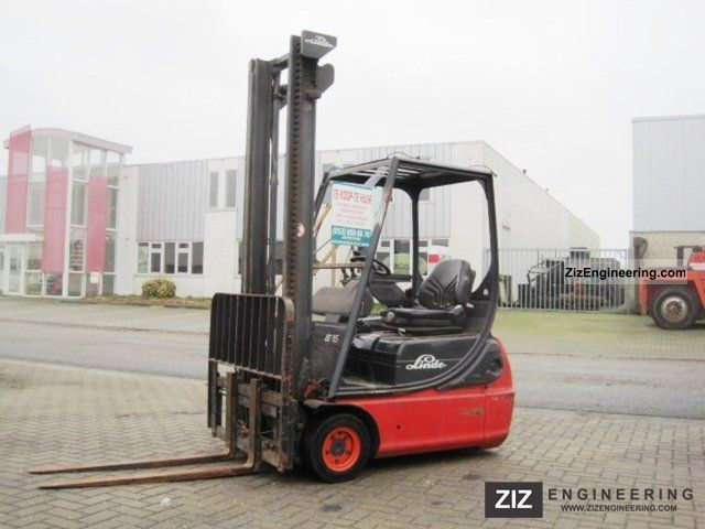 2003 Linde  E 16 C - 02 / SIDE SHIFT Forklift truck Front-mounted forklift truck photo