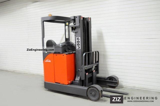 2003 Linde  R 20, SS, TRIPLEX, 8407Bts! Forklift truck Reach forklift truck photo