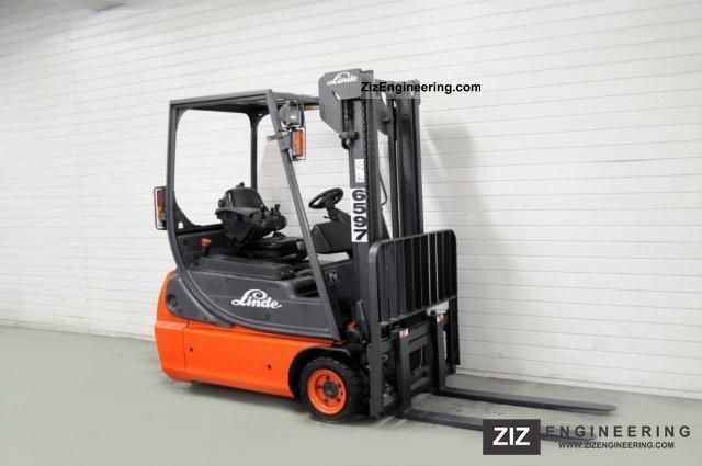 2005 Linde  E 16 C-02, SS, 6739Bts ONLY! Forklift truck Front-mounted forklift truck photo