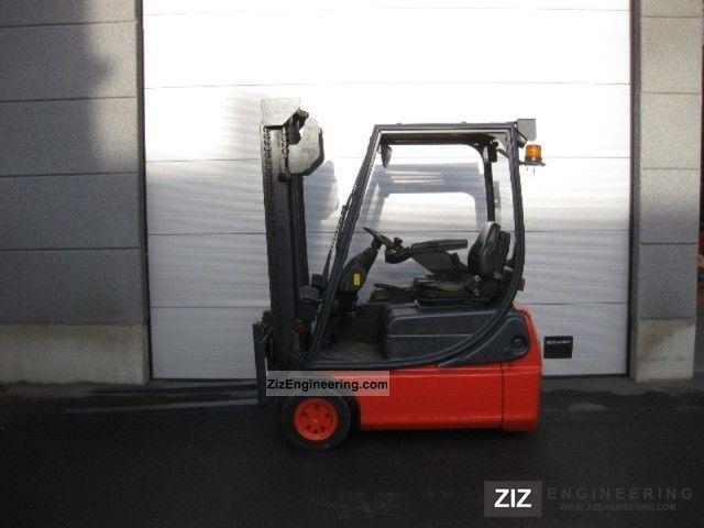 2005 Linde  E14c-02 (494) Forklift truck Front-mounted forklift truck photo