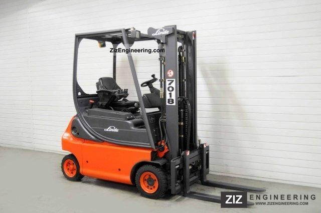 2002 Linde  E 16 P-02, SS, FREE LIFT ONLY 5655Bts! Forklift truck Front-mounted forklift truck photo