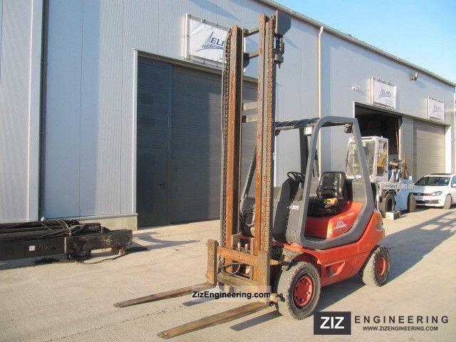 1995 Linde  AG H 25 D Forklift truck Front-mounted forklift truck photo
