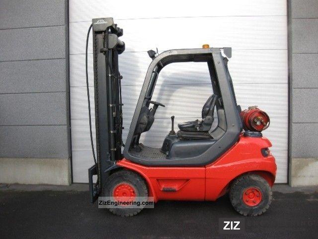 2001 Linde  H20T-03 (489) Forklift truck Front-mounted forklift truck photo