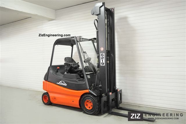 2005 Linde  E 25/03, FREE LIFT Forklift truck Front-mounted forklift truck photo