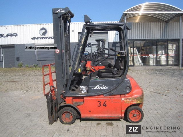2006 Linde  E 18 P - 02 / TRIPLOMAST / SIDE SHIFT / FORKPOS Forklift truck Front-mounted forklift truck photo