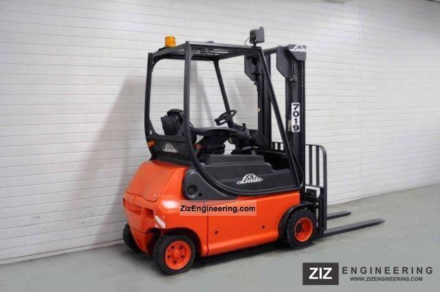 2003 Linde  E 18 P-02, SS, 5531Bts ONLY! Forklift truck Front-mounted forklift truck photo