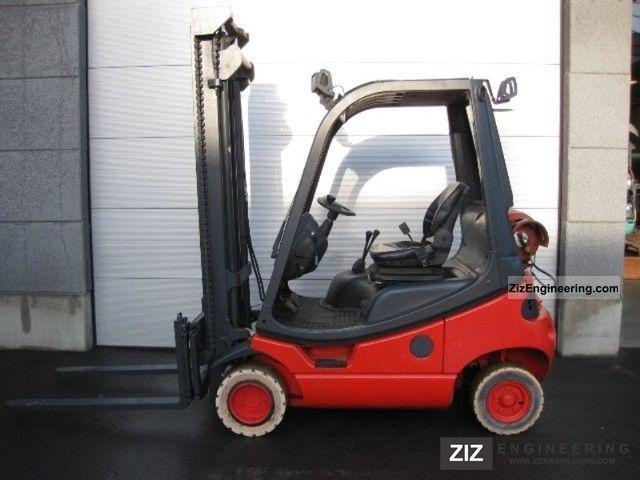 2004 Linde  H18T-03 (495) Forklift truck Front-mounted forklift truck photo