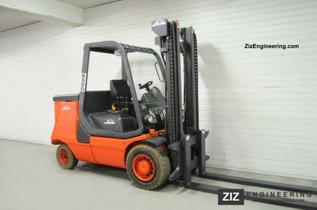 2000 Linde  E 40 P Forklift truck Front-mounted forklift truck photo