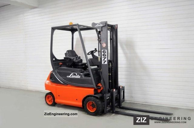 2003 Linde  E 18 P-02, SS, FREE LIFT, 8141Bts! Forklift truck Front-mounted forklift truck photo