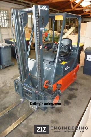 2002 Linde  E 20 P forklift / very good condition Forklift truck Front-mounted forklift truck photo