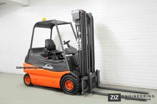 1995 Linde  E 25, TRIPLEX, 3448Bts ONLY! Forklift truck Front-mounted forklift truck photo