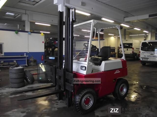 1979 Linde  2T orignal H20D forklift with 3280 hrs from 2.Hand Forklift truck Front-mounted forklift truck photo
