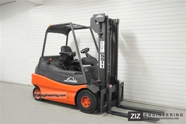 2000 Linde  E 30-02, 7227Bts! Forklift truck Front-mounted forklift truck photo